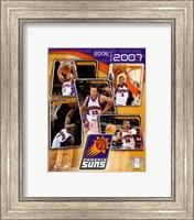 Framed '06 / '07 - Suns Team Composite
