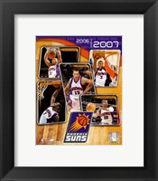 Framed '06 / '07 - Suns Team Composite