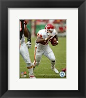 Framed Larry Johnson - '06 / '07 Action