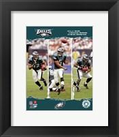 """Framed 2006 - Eagles """"Big 3"""""""