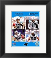 "Framed 2006 - Panthers ""Big 4"""