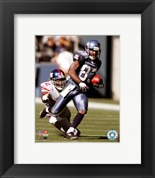 Framed Deion Branch - '06 / '07 Action