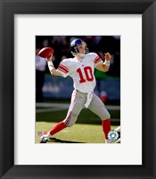 Framed Eli Manning - '06 / '07 Action