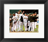 Framed Athletics - 2006 ALDS / Game 3 Celebration