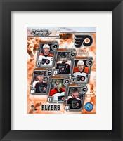 Framed '06 / '07 -  Flyers Team Composite