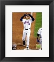 Framed Carlos Beltran - 2006 NLCS Game1 / Pray