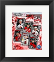 Framed '06 / '07 Devils Team Composite