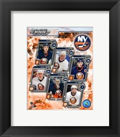 Framed '06 / '07- Islanders Team Composite