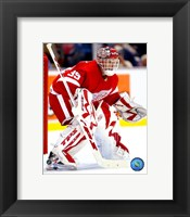Framed Dominic Hasek - '06 /'07 Home Action