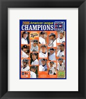 Framed '06 Tigers ALCS Champions Team Composite ll