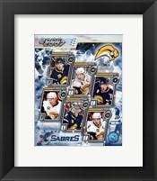 Framed '06 / '07 Sabres Team Composite
