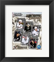 Framed '06 / '07 Ducks Team Composite