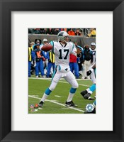 Framed Jake Delhomme - '06 / '07 Action