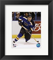 Framed Keith Tkachuk - '06 / '07 Home Action