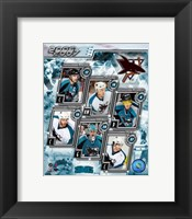 Framed 2006 - Sharks Team Composite