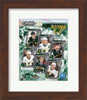 Framed '06 / '07 - Stars Team Composite