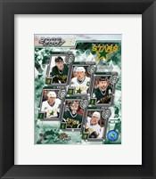 Framed '06 / '07 - Stars Team Composite