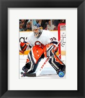Framed Rick DiPietro - '06 / '07 Away Action