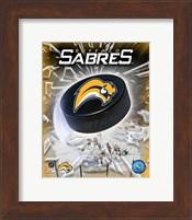 Framed '06 / '07 - Sabres Team Logo