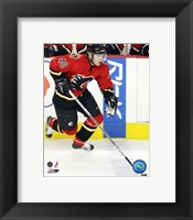 Framed Alex Tanguay - '06 / '07 Home Action