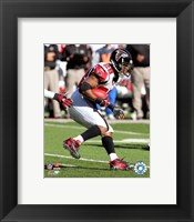 Framed Warrick Dunn - '06 / '07 Action