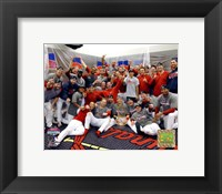 Framed 2006 - World Series Celebrates / Locker Room (#32)