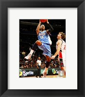 Framed Carmelo Anthony - '06 / '07 Action