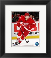Framed Pavel Datsyuk - '06 / '07 Away Action