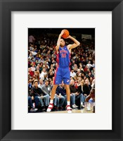 Framed Tayshaun Prince - '06 / '07 Action