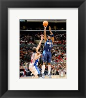 Framed Jason Terry - '06 / '07 Action