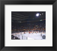 Framed Buffalo Memorial Auditorium - (Sabres)