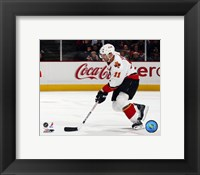 Framed Stephane Yelle - '06 / '07 Away Action