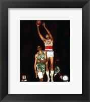 Framed Wilt Chamberlain - 1967 Action