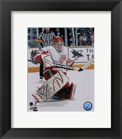 Framed Chris Osgood - '06 / '07 Away Action