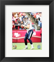 Framed Philip Rivers - '06 / '07 Action