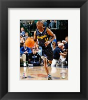Framed Earl Boykins - '06 / '07 Action