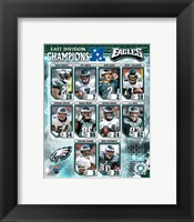 Framed Eagles - 2006 NFC East Champions Composite
