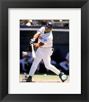 Framed Tony Gwynn - 1999 Batting Action