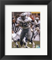 "Framed Ed ""Too Tall"" Jones 1985 Action"