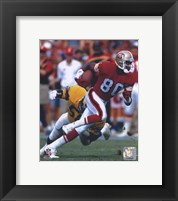Framed Jerry Rice - Action