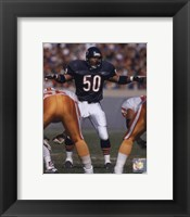 Framed Mike Singletary - 1992 Action