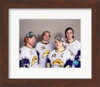 Framed '07 Sabres All Srar Group #2
