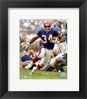 Framed Thurman Thomas - 1999 Action
