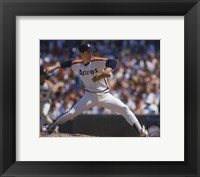Framed Nolan Ryan - 1988 Action