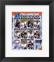 Framed 2006  - Bears NFC Champions Composite