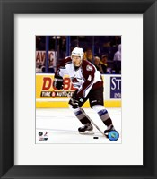 Framed John-Michael Liles - '06 / '07 Away Action
