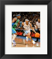 Framed Allen Iverson - '06 / '07 Basketball Action
