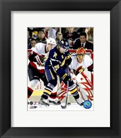Framed Thomas Vanek - '06/ '07 Home Action