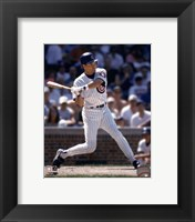 Framed Ryne Sandberg -  1996 Batting Action