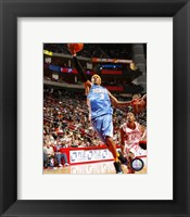 Framed Allen Iverson - '06 / '07 shooting the ball